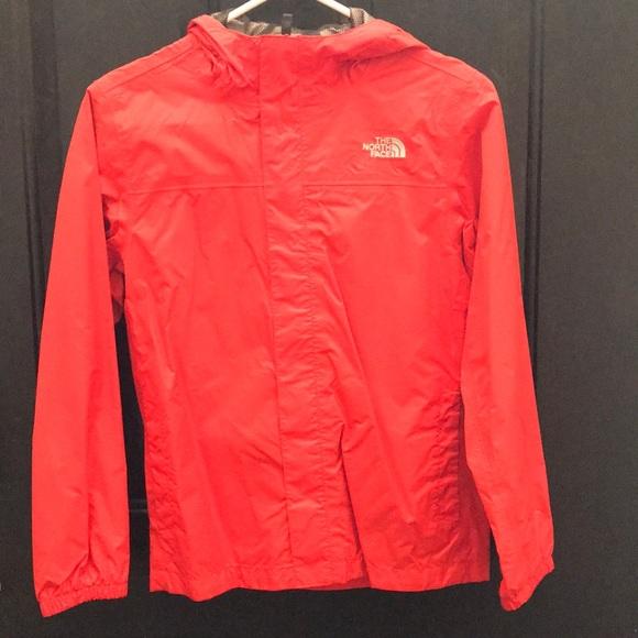 19e02e2d3 North face Burnt orange rain jacket
